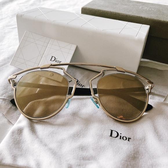 02cefcdc3c98 Dior Accessories | Authentic So Real Sunglasses | Poshmark
